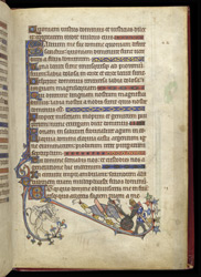 A Knight Killing A Giant, In The 'Alphonso' Psalter